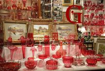 Cranberry glass / by Cindy Yonkers Tutwiler