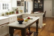 Dream kitchens / dining rooms  / by Judy Hurst McCommic