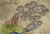 HEX: Maps / Rpg map. For my Hollow earth expedition scénario.