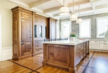 My favorite part of the house... The kitchen!! / by J.W. Sanders