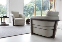 Poltrone-armchairs / Porada's iconic armchairs. Made in Italy excellence