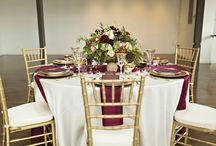bordo wedding decor