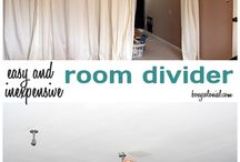 Room Dividers / Maximizing space / by Carol Pritt