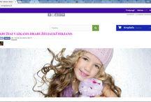 Internetinės parduotuvės / Internetinė parduotuvė drabužiai vaikams www.irmaziems.lt