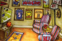 Sports/Man Cave / by Catherine Dyer