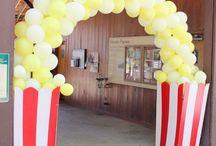 Balloons Circus theme