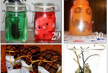 arts and craft in a jars