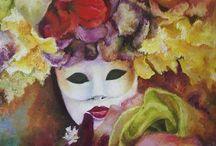 Bijoux Vénitiens / Les couleurs, les formes, les costumes et les masques sont au rendez-vous pour des fêtes traditionnelle italienne comme le Carnaval de Venise. Il attire les foules considérables, une confection de modèles en y ajoutant des détails tels que les broderies, les perles, les plumes et autres. L'élégance dans toute sa splendeur nous fait rêver un peu de cette folie.