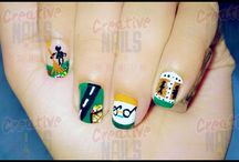 Love You India Nail Designs