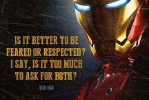 Superheroes / A collection of inspirational quotes from our favorite superheroes.