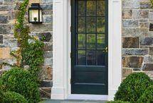 exteriors and porches / by Amanda Jones