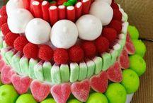 snoep taart