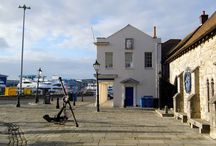 Poole Quay in Autumn / Area Photography