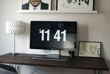 Home Office | Toque a Campainha / Aquelas dicas pro seu escritório em casa ficar sensacional <3!
