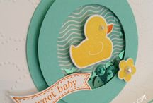 Stampin' Up! - Baby Cards / Baby cards made with Srampin' Up! Products.
