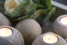 DECORACION / Decoración perfecta para centros de mesa y distintos eventos con velas. Decoragloba
