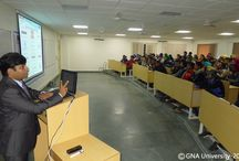 The new batch of faculty of Design and Innovation(CAD/CAM) ,Welcome to GNA University / First phase orientation class has been started. Students got the knowledge about GNA Group, GNA University, Course Content, University rules & regulations and route plan for their six months journey.