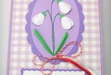 Felicitari 1 Martie / Springtime cards