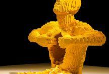 Art - Nathan Sawaya / Artiste - Lego - Artiste Moderne - Legophoto