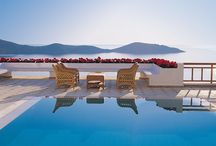 Sublime views from Elounda Gulf Villas / Admire the stunning views of Elounda Gulf Villas..Let the tranquil ambience seduce you while you can dive in the stunningly beautiful private pool with the shimmering waters and enjoy the breathtaking views to the Aegean sea. http://goo.gl/Lc4poF