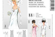Schnittmuster Brautkleid