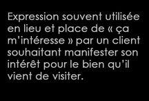 Le DICO de l'IMMO par Haussmann Prestige Paris / Le DICO de l'IMMO par Haussmann Prestige Paris Ne nous prenons pas trop au sérieux...