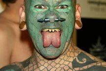 manusia reptil