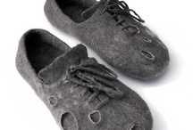 felting - shoes, bags and CAT PODS