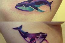Tattoo whale