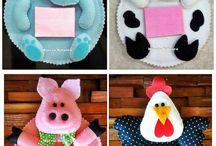 Craft animal - Pupazzi animali / Tante idee per creare pupazzi e progetti creativi che vedono protagonisti gli animali