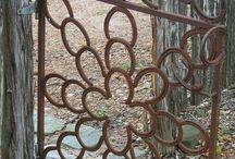 artistic gate