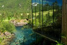 Norway Accommodations / From Hotels to Treetop Huts