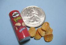 miniature junk food
