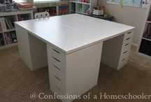 Homeschool room / by Emily McClung
