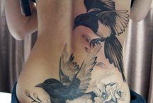 Madaras tetoválások