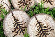wood art / by Ingrid Ann