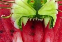 Fruit, berryes & drinks