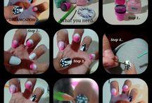 Nail art tutorial..