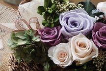 Panier bouquet