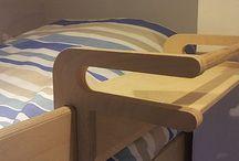 Bed shelf ideas