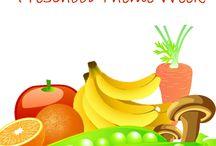 Kindergarten: Fruits & Vegetables theme