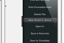 Write for iPhone / A Dropbox based Text Editor and Notes App