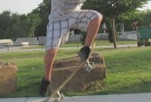 Kids Sports - Get Active! / Kids need to be outside and active! Help your kids find a sport that is right for them. Try lots of things- even skateboarding! #skatertrainer makes trying skateboarding for the first time easy and fun! #sports #skateboard #kids