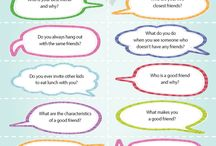 friends talk sheet
