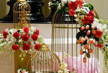 Fresh flowers arrangements