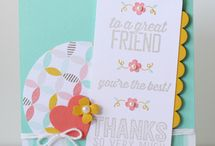 Cards: SU SAB 2015 / Cards made with products from the Stampin' Up! Sale-a-Bration catalog for 2015