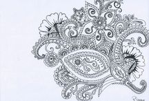 Meine Zeichnungen/ My drawings / Now an then I draw and I'll show you some pictures :)