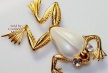 ღ Frogs ღ Vintage Jewelry