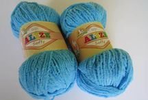 YARN SOFTY / Sweet and soft baby yarn. Needle size 3-5 (US 8-10), crochet hook size 2-4. 197 yards (180 meters) 100 grams (3.53 ounces) Perfect for kids toys, hats, sweaters everything soft and babystyle. http://yarnstreet.com/yarns/alize/softy
