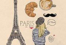 Paris, 2013 / by Kayley Thibodeau